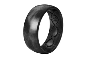 Original Metallic Black Pearl - Groove Life Silicone Wedding Rings