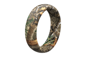 Thin Camo Realtree Edge - Groove Life Silicone Wedding Rings