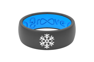Original Custom Snowflake Deep Stone Grey/Blue - Groove Life