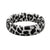 Snow Leopard - Thin - Groove Life Silicone Wedding Rings