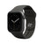 Apple Watch Band Solid Black - Groove Life Silicone Wedding Rings