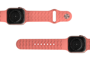 Watch Band Solid Coral - Groove Life Silicone Wedding Rings