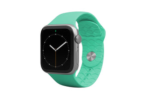 Apple Watch Band Solid Seafoam - Groove Life Silicone Wedding Rings