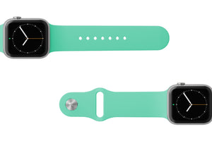 Watch Band Solid Seafoam - Groove Life Silicone Wedding Rings