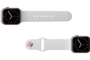 Apple Watch Band Solid White - Groove Life