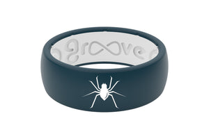 Original Custom Spider - Groove Life Silicone Wedding Rings