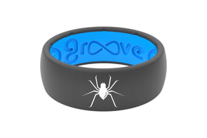 Original Custom Spider Deep Stone Grey/Blue - Groove Life
