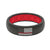 Thin Protector Fire Red/White Flag - Groove Life Silicone Wedding Rings