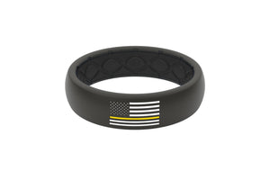 thin line ems first responder silicone ring