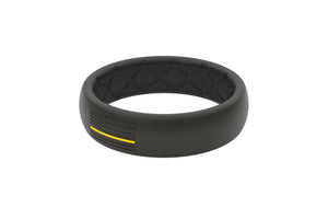 Thin Protector EMS Yellow/Black Flag