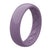 Thin Satin Plum - Groove Life Silicone Wedding Rings