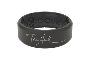 Tony Hawk Signature Ring - Groove Life Silicone Wedding Rings