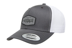 Adventure Gear Trout White Mesh Trucker Hat