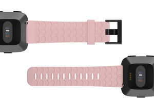 Fitbit Watch Band Versa Solid Rose Pink - Groove Life