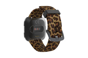 Leopard Fitbit Versa Watch Band - Groove Life