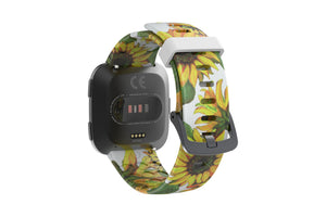Sunflower Fitbit Versa Watch Band - Groove Life