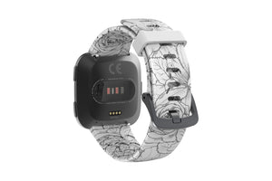 Winter Rose - Fitbit Versa Watch Band