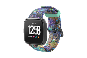 Twilight Blossom - Fitbit Versa Watch Band