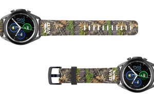 NWTF Mossy Oak Obsession Samsung 22mm Watch Band - Groove Life