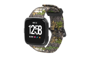 NWTF Mossy Oak Obsession Fitbit Versa Watch Band - Groove Life