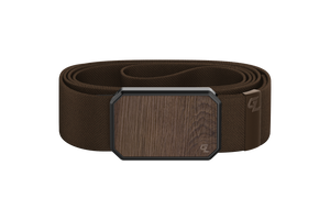 Groove Belt Walnut/Brown
