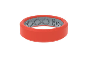 Edge Thin Fiesta - Groove Life Silicone Wedding Rings