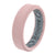 Edge Thin Rose Quartz - Groove Life Silicone Wedding Rings