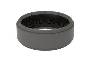 Zeus Storm Grey/Black Trainer - Groove Life Silicone Wedding Rings
