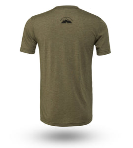 Shirt Adventure Gear Deer Olive Heather