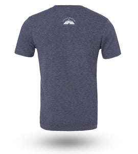 Shirt Adventure Gear Whale Navy Heather - Groove Life Silicone Wedding Rings