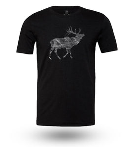 Shirt Adventure Gear Elk Black Heather