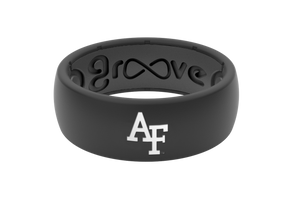 Original College Air Force - Groove Life Silicone Wedding Rings