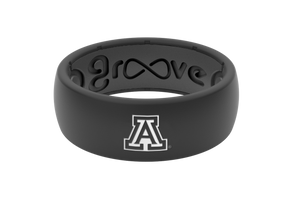 Original College Arizona - Groove Life Silicone Wedding Rings