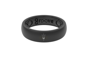 Thin College Arizona State - Groove Life Silicone Wedding Rings
