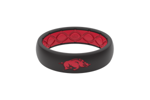 Thin College Arkansas - Groove Life Silicone Wedding Rings