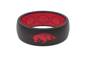 Original College Arkansas - Groove Life Silicone Wedding Rings