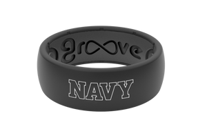 Original College U.S. Naval Academy - Groove Life Silicone Wedding Rings