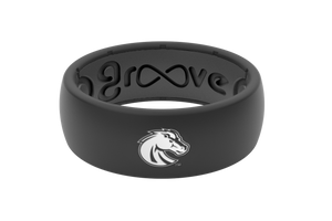 Original College Boise State - Groove Life Silicone Wedding Rings
