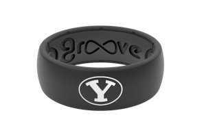 Original College Brigham Young - Groove Life Silicone Wedding Rings