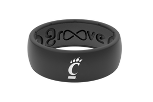 Original College Cincinnati - Groove Life Silicone Wedding Rings