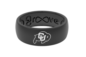 Original College Colorado - Groove Life Silicone Wedding Rings