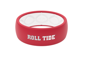Original College Alabama Roll Tide - Groove Life Silicone Wedding Rings