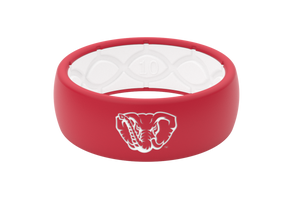 Original College Alabama Mascot - Groove Life Silicone Wedding Rings