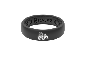 Thin College Fresno State - Groove Life Silicone Wedding Rings