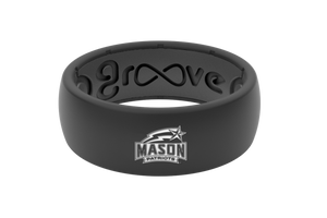 Original College George Mason - Groove Life Silicone Wedding Rings
