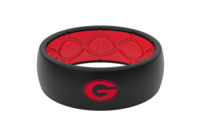 Original College Georgia Logo - Groove Life Silicone Wedding Rings
