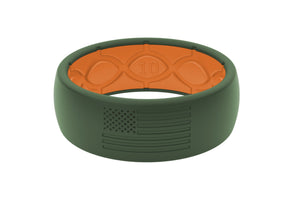 Original America Moss Green - Groove Life Silicone Wedding Rings