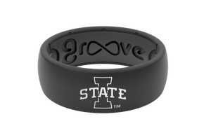 Original College Iowa State - Groove Life Silicone Wedding Rings