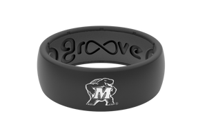 Original College Maryland - Groove Life Silicone Wedding Rings
