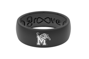 Original College Memphis - Groove Life Silicone Wedding Rings